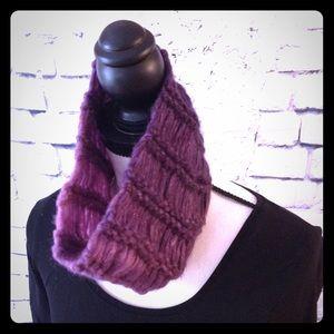 Girls handmade infinity scarf